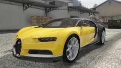 Bugatti Chiron 2017 para GTA 5