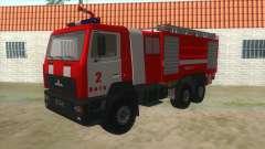 MAZ 5440 Fuego para GTA San Andreas