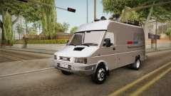 Zastava Daily RTS Newsvan para GTA San Andreas