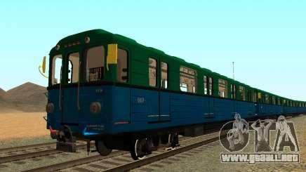 Metrostav tipo Еж3 para GTA San Andreas