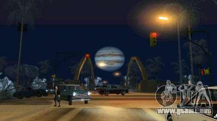 Jupiter mod para GTA San Andreas