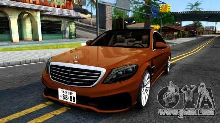 Mercedes-Benz S-class W222 Wald para GTA San Andreas