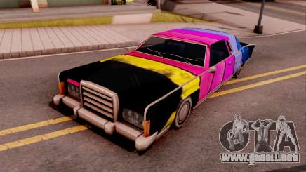 New Remington Paintjob v1 para GTA San Andreas
