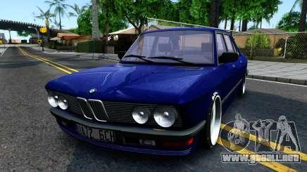 BMW E28 525e para GTA San Andreas
