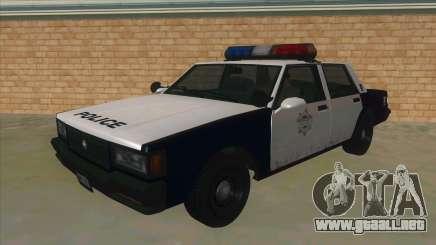 HD LVPD Police Cruiser para GTA San Andreas