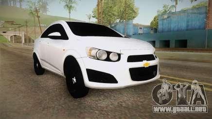 Chevrolet Sonic Beta para GTA San Andreas