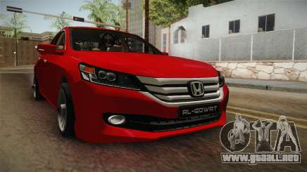 Honda Accord 2015 Cover para GTA San Andreas