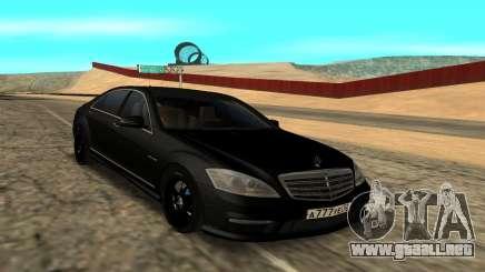 Mersedes-Benz S500 L para GTA San Andreas