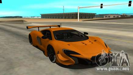 McLaren 650S GT3 para GTA San Andreas