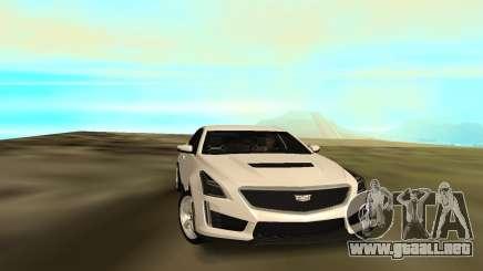 Cadillac CTS 2016 para GTA San Andreas
