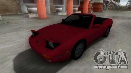 Nissan 240SX Cabrio para GTA San Andreas