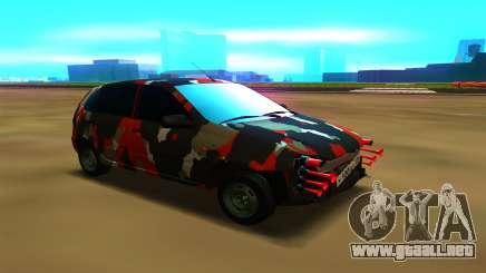 Lada Kalina 1117 para GTA San Andreas