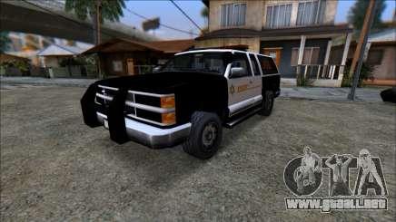 LQ Police Ranger para GTA San Andreas