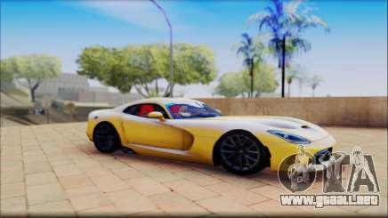 Dodge Viper amarillo para GTA San Andreas