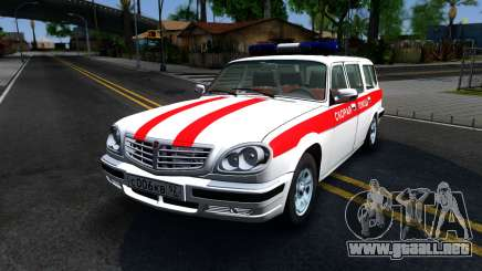 GAZ 31105 Volga station Wagon Ambulancia para GTA San Andreas