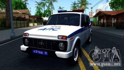 Lada 4x4 21310-59 Urban 2016 Russian Police para GTA San Andreas
