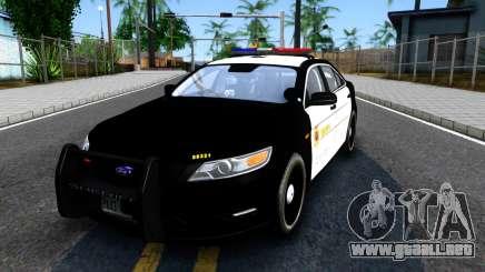 Ford Taurus LASD Interceptor para GTA San Andreas