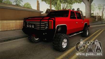 FBI Rancher 4x4 para GTA San Andreas