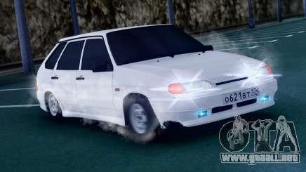 ВАЗ 2114 AVR Versión 1.1 para GTA San Andreas