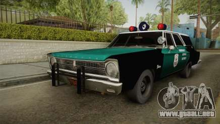 Plymouth Belvedere Station Wagon 1965 NYPD para GTA San Andreas