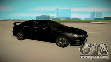 Mitsubishi Lancer X Evo para GTA San Andreas