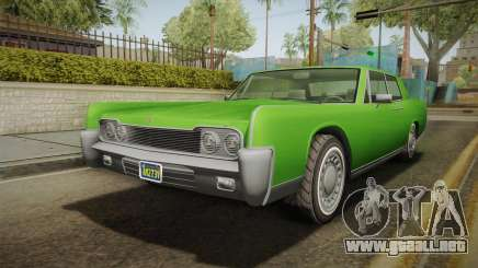 GTA 5 Vapid Chino Continental IVF para GTA San Andreas