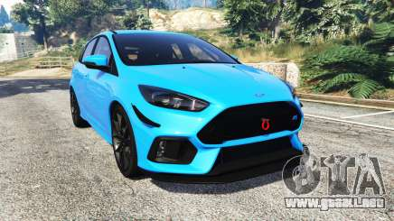 Ford Focus RS (DYB) 2017 [replace] para GTA 5