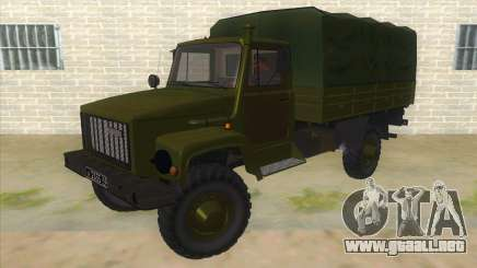 El GAS 33081 sadco Military para GTA San Andreas