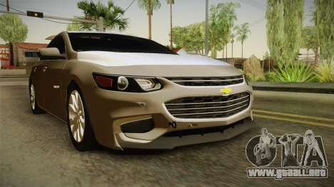 Chervolet Malibu 2017 para GTA San Andreas