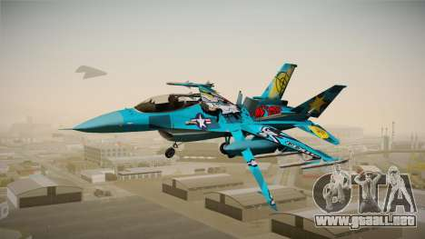 FNAF Air Force Hydra Mike para GTA San Andreas