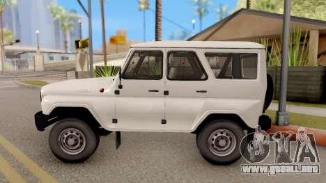 UAZ Hunter para GTA San Andreas left