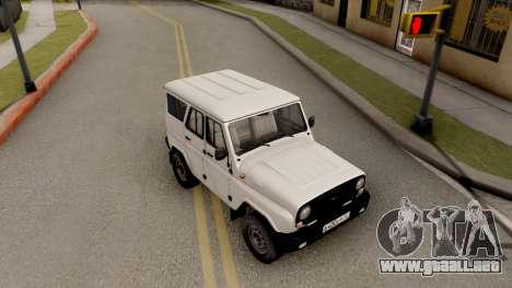 UAZ Hunter para la visión correcta GTA San Andreas