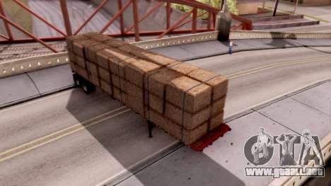 FlatBed Trailer From American Truck Simulator para GTA San Andreas