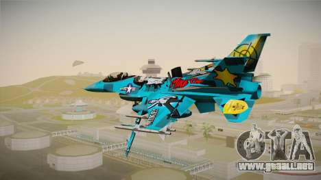 FNAF Air Force Hydra Mike para GTA San Andreas left