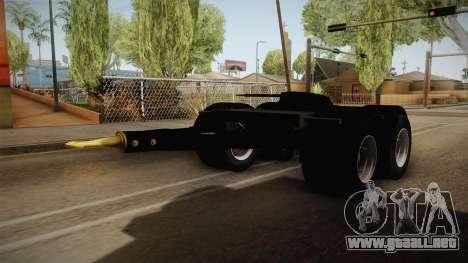 Double Trailer Livestock v2 para la visión correcta GTA San Andreas