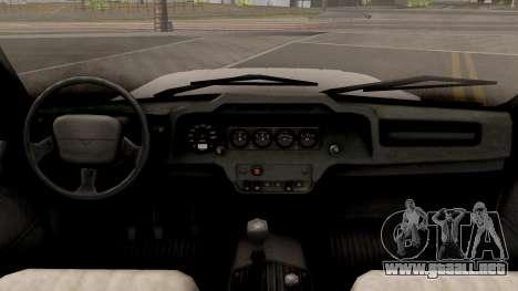 UAZ Hunter para visión interna GTA San Andreas