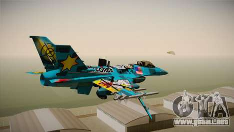 FNAF Air Force Hydra Mike para la visión correcta GTA San Andreas