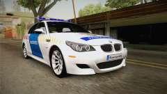 BMW M5 E60 Hungary Police para GTA San Andreas