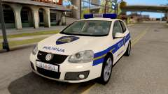 Volkswagen Golf V Croatian Police Car para GTA San Andreas