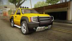 GTA 5 Declasse Granger Pick-Up para GTA San Andreas