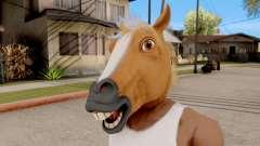 Máscara De Caballo para GTA San Andreas