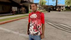 Ecko Unltd T-Shirt Red para GTA San Andreas