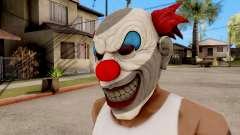 Máscara De Payaso Malvado para GTA San Andreas
