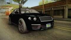 GTA 5 Enus Huntley Coupè FIV para GTA San Andreas