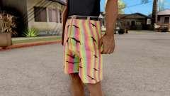 Pantalones cortos con las gaviotas para GTA San Andreas