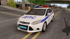 Ford Focus 3 Russisan Police para GTA San Andreas