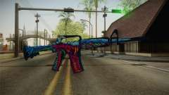 CS:GO - M4A1-S Hyper Beast No Silencer para GTA San Andreas