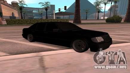 Mercedes-Benz 63S Brabus para GTA San Andreas