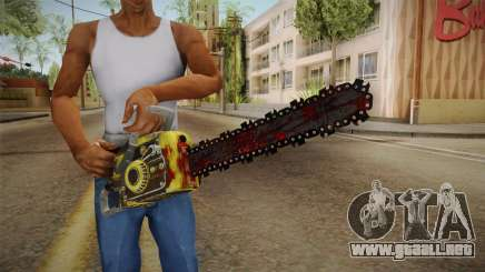 Leatherface Butcher Weapon 2 para GTA San Andreas
