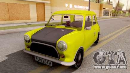 Mini Cooper 1300 Mr Bean para GTA San Andreas